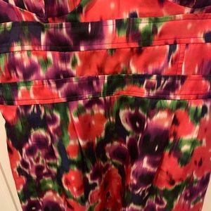 bebe Dresses - Bebe floral print mini/sun dress - mint!
